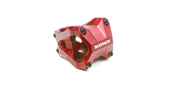 Sixpack Millenium-35 - Potencia MTB y potencia bicicleta carretera - rojo